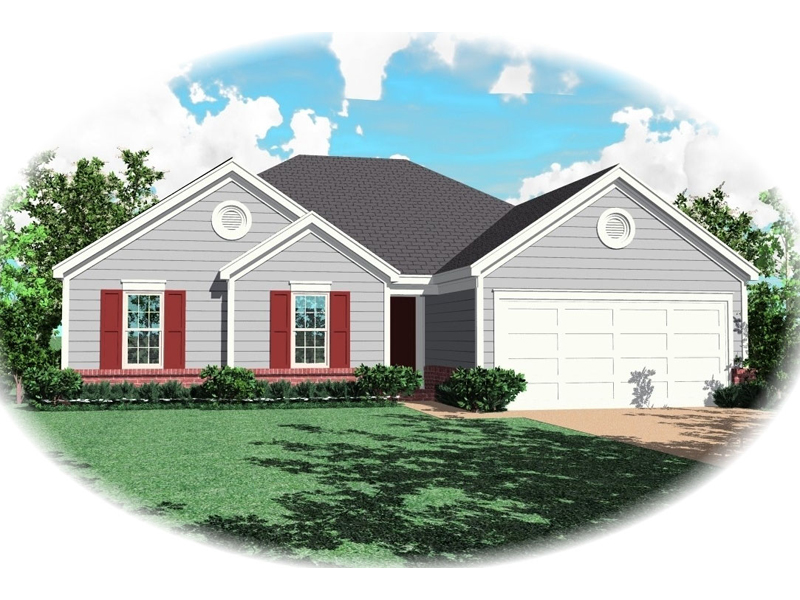 Country House Plan Front of Home - 087D-0064 | House Plans and More