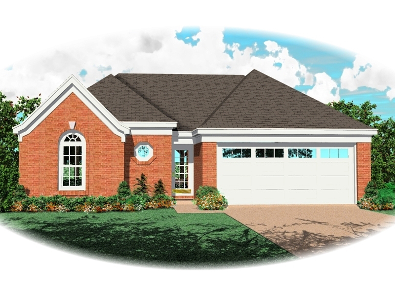 Traditional Brick Ranch House Has Great Roof Lines
