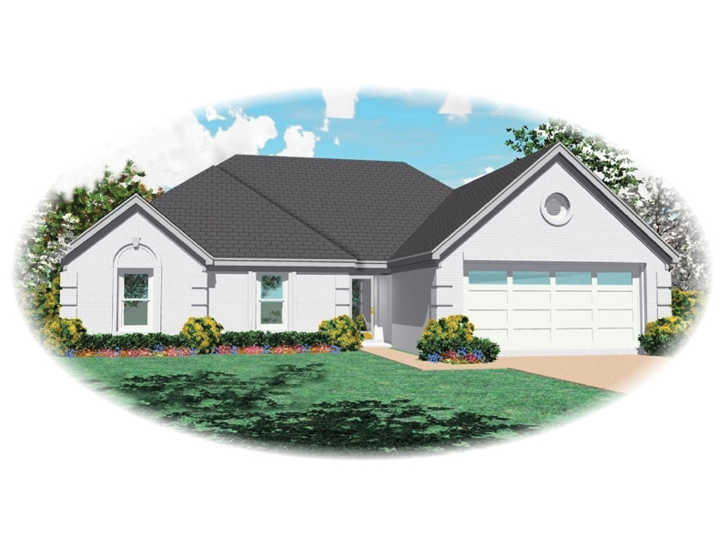 Sunbelt Home Plan Front of Home - 087D-0069 | House Plans and More