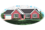 Neoclassical Home Plan Front of Home - 087D-0074 | House Plans and More