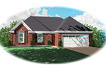Traditional House Plan Front of Home - 087D-0079 | House Plans and More