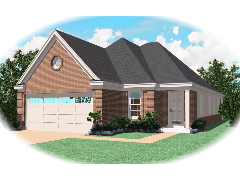 Brick Ranch Offers All The Features Of Traditional Style