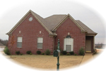 All Brick Ranch Home Offers Traditional Style