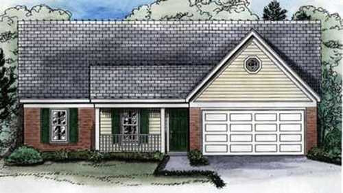 Colonial House Plan Front of Home - 087D-0094 | House Plans and More