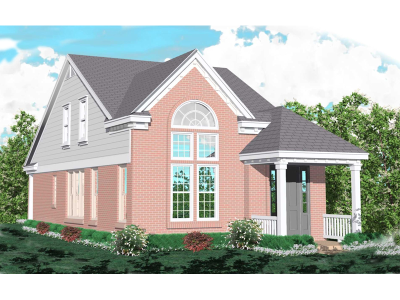 House Plans Narrow Lot Rear Entry Garage
