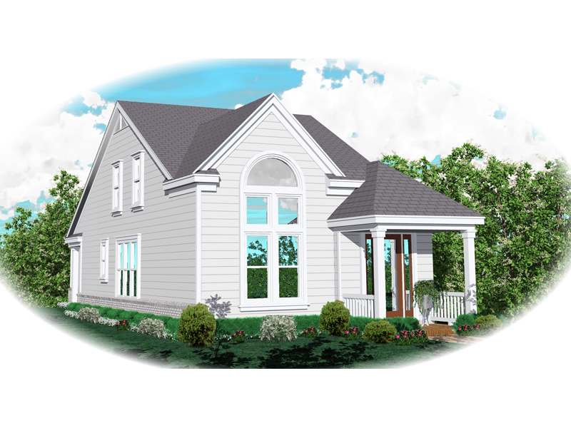 Traditional House Plan Front of Home - 087D-0148 | House Plans and More