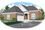 Traditional House Plan Front of Home - 087D-0151 | House Plans and More