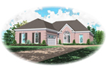 European House Plan Front of Home - 087D-0152 | House Plans and More