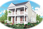 Two-Story Has Timeless Southern Style
