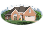 Traditional Brick Home Ideal For Narrow Lot