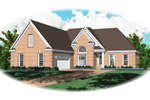 Simple, Yet Comfortable Traditional Brick Home
