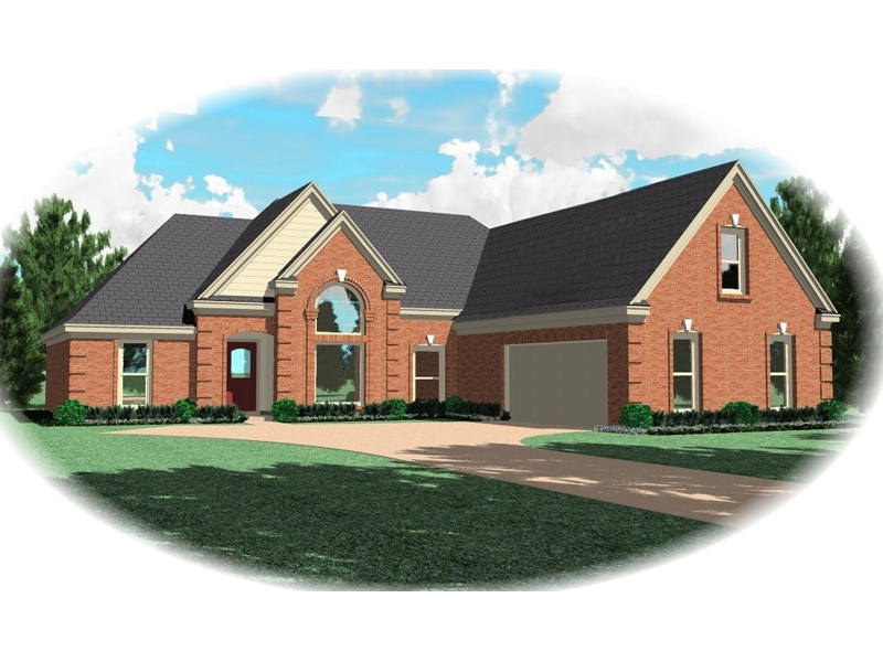 Traditional House Plan Front of Home - 087D-0280 | House Plans and More