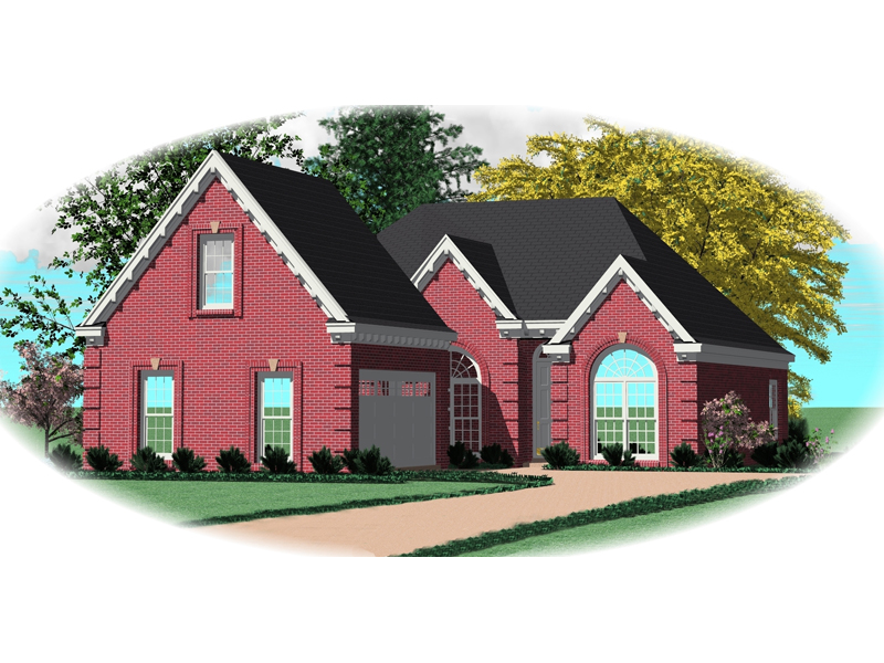 Simply Charming Traditional Brick Design