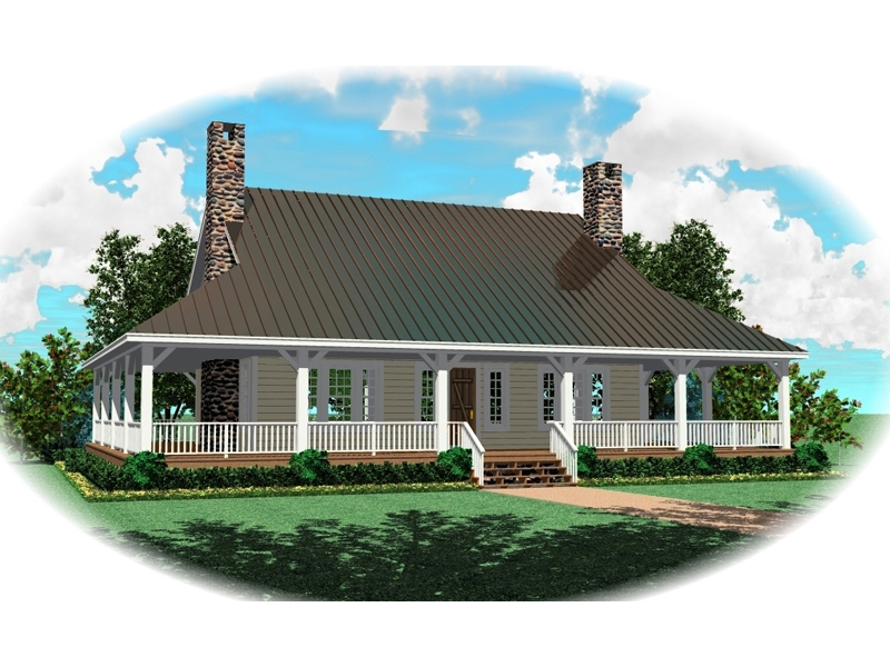 Wrap Around Porch Promotes Country Living
