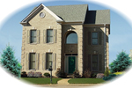 Two-Story Arched Entry Adds Elegance