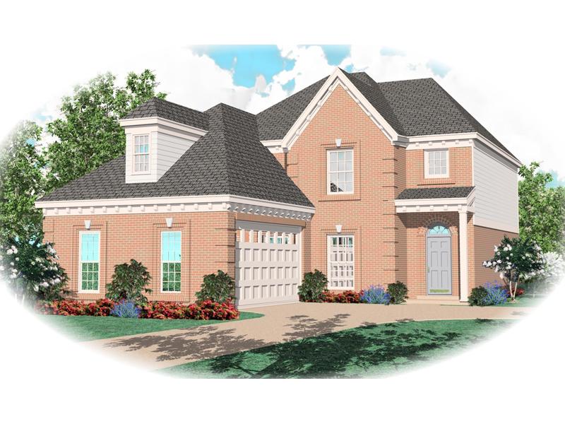 Two-Story Home Has Elegant Quality