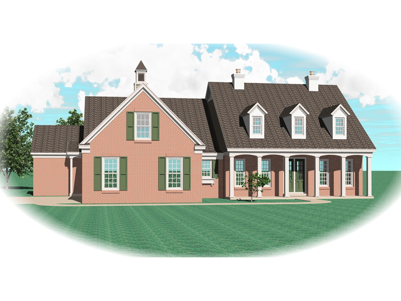 All-Brick Traditional Design Has Loads Of Curb Appeal