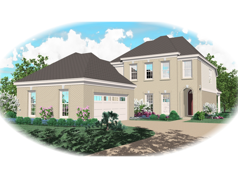 Colonial Floor Plan Front of Home - 087D-0363 | House Plans and More