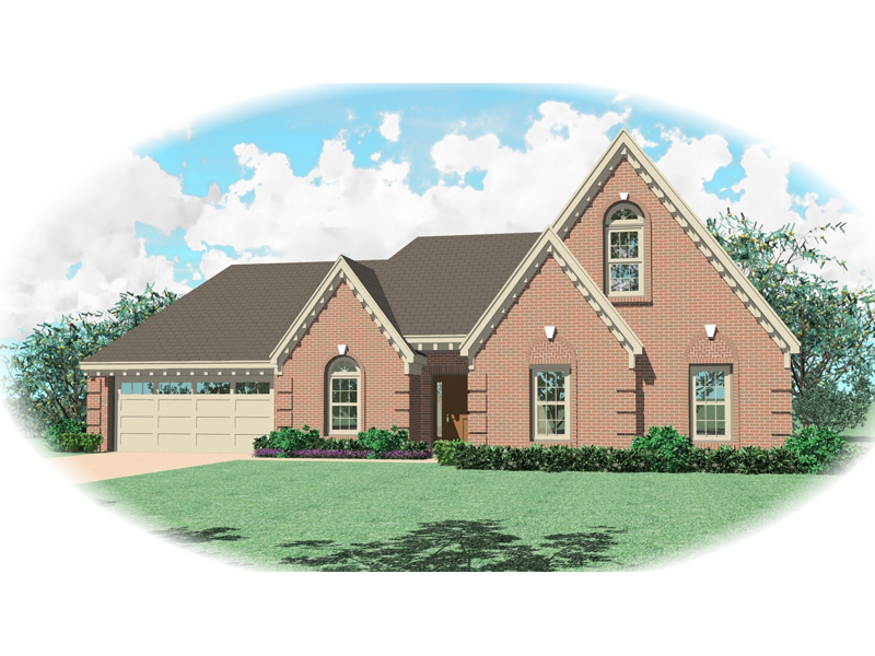 Country House Plan Front of Home - 087D-0378 | House Plans and More