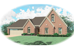 Southern House Plan Front of Home - 087D-0378 | House Plans and More