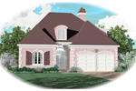 European House Plan Front of Home - 087D-0381 | House Plans and More