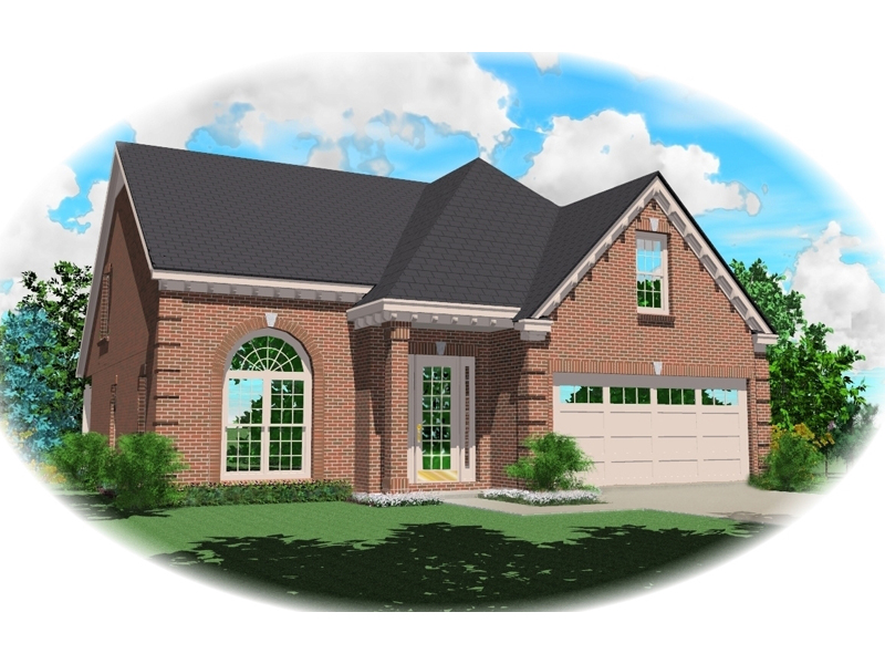 Traditional House Plan Front of Home - 087D-0397 | House Plans and More