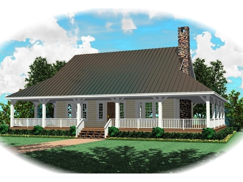 Vacation House Plan Front of Home - 087D-0417 | House Plans and More