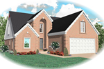 Traditional House Plan Front of Home - 087D-0423 | House Plans and More