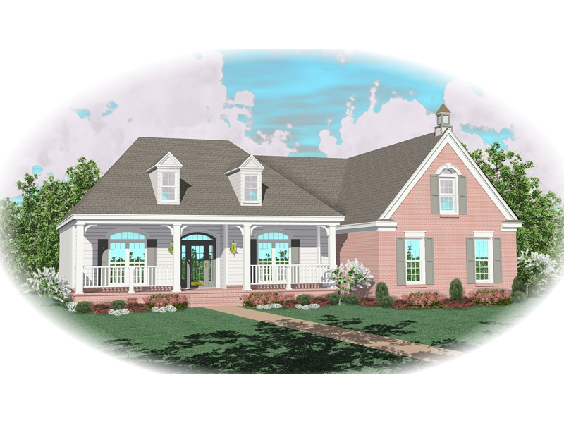 Southern House Plan Front of Home - 087D-0433 | House Plans and More