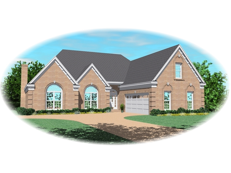 Country House Plan Front of Home - 087D-0446 | House Plans and More