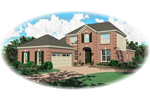 European House Plan Front of Home - 087D-0447 | House Plans and More