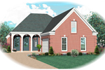 Attractive Triple Arches Grace This Country Homes Entry