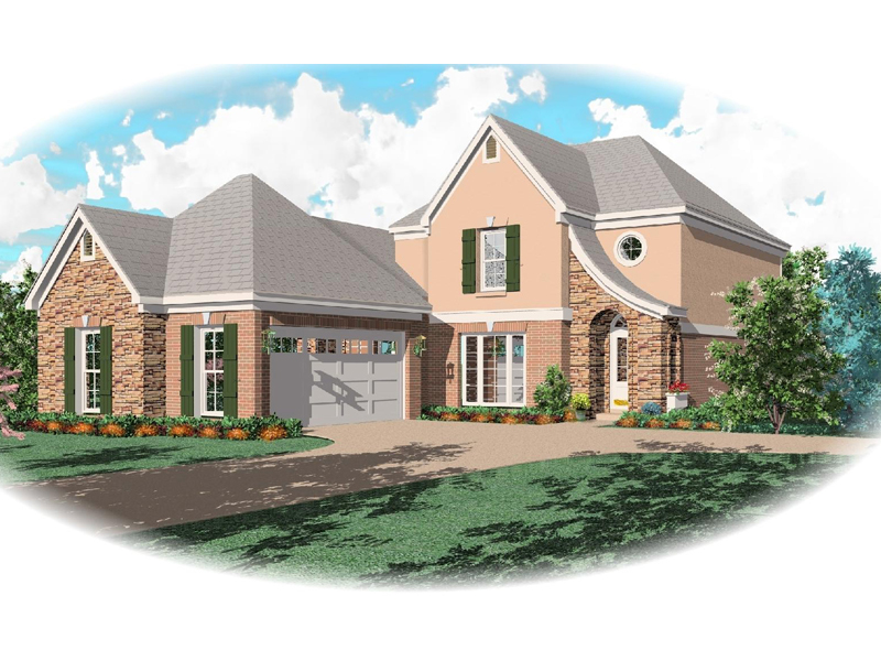 Country House Plan Front of Home - 087D-0474 | House Plans and More
