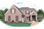 Country French Home Plan Front of Home - 087D-0476 | House Plans and More