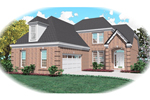 Traditional House Plan Front of Home - 087D-0477 | House Plans and More