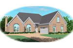 European House Plan Front of Home - 087D-0491 | House Plans and More