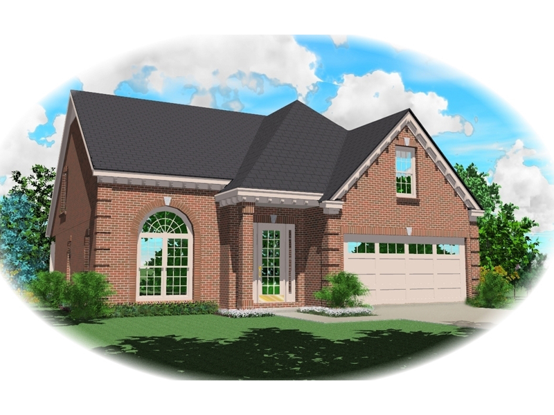 Country House Plan Front of Home - 087D-0495 | House Plans and More