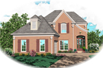 Southern House Plan Front of Home - 087D-0496 | House Plans and More
