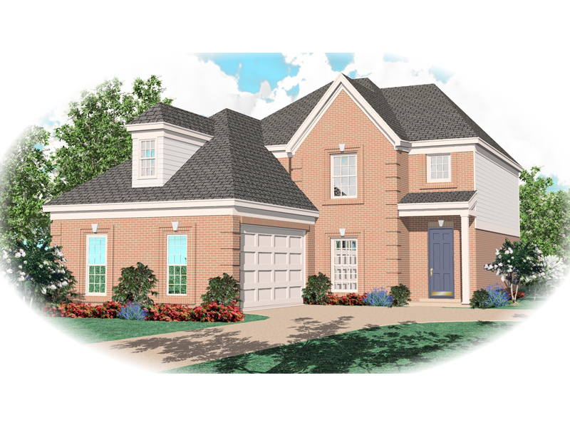 Southern House Plan Front of Home - 087D-0497 | House Plans and More