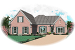 Colonial Floor Plan Front of Home - 087D-0502 | House Plans and More