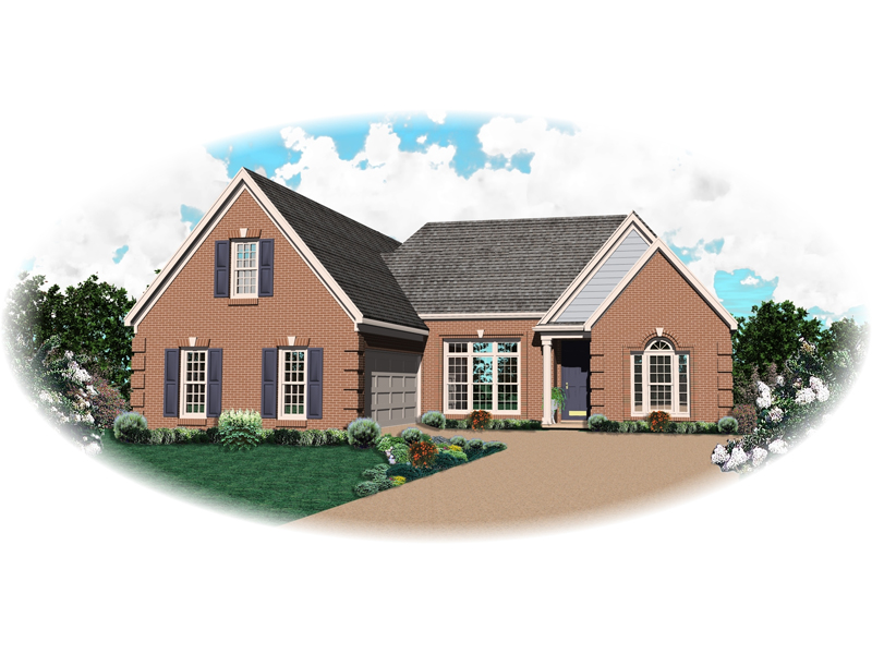 Country House Plan Front of Home - 087D-0503 | House Plans and More