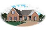 Colonial Floor Plan Front of Home - 087D-0503 | House Plans and More