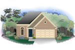 European House Plan Front of Home - 087D-0528 | House Plans and More