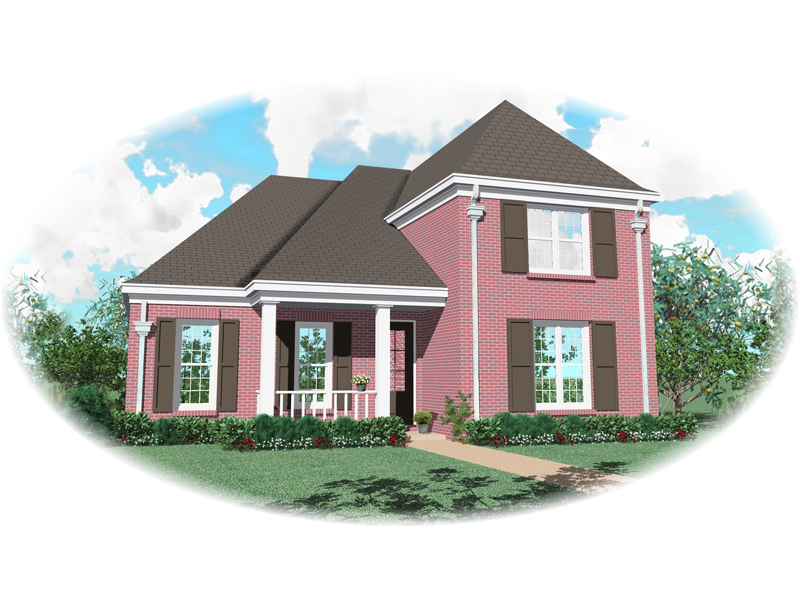 European House Plan Front of Home - 087D-0530 | House Plans and More