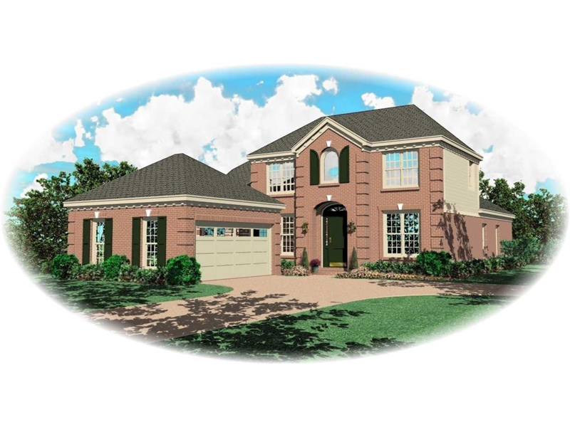 Southern House Plan Front of Home - 087D-0532 | House Plans and More