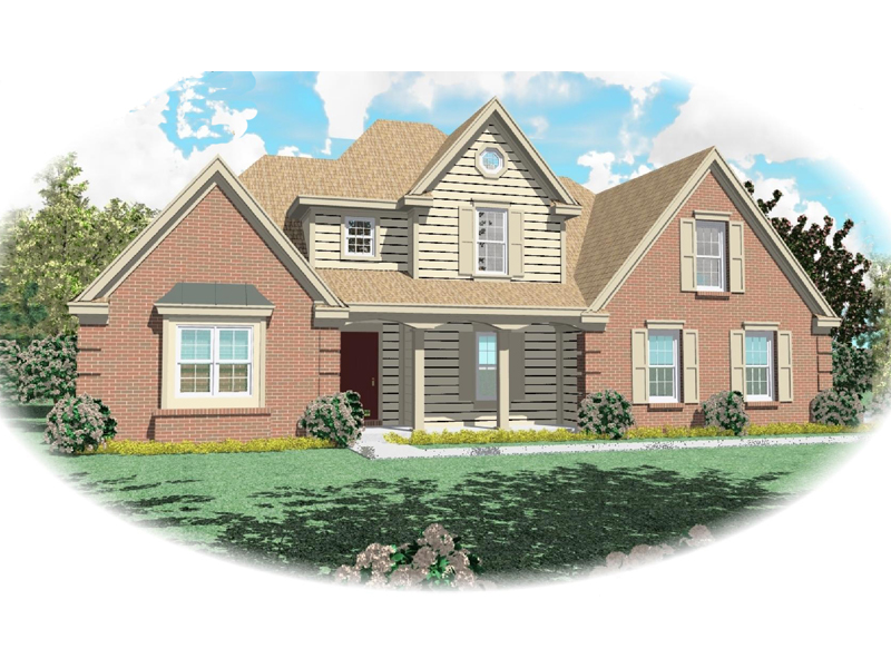 Country House Plan Front of Home - 087D-0533 | House Plans and More