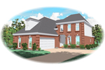 Traditional House Plan Front of Home - 087D-0540 | House Plans and More