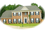 Southern Plantation House Plan Front of Home - 087D-0562 | House Plans and More
