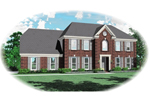 Colonial Floor Plan Front of Home - 087D-0568 | House Plans and More