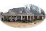 Acadian House Plan Front of Home - 087D-0581 | House Plans and More